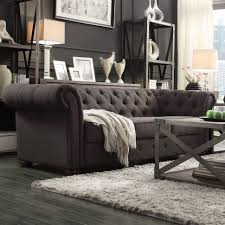 ... Large Size of Sofas Center:formidable Gray Chesterfield Sofa Image  Concept Grey Leather Charcoal Velvet ...