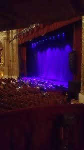 Chicago Theatre Section Mezzanine Box B Row 1