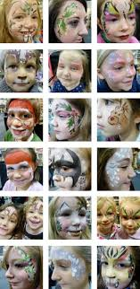 face face painting ideas free sheets