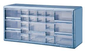 plastic storage drawers. Amazon.com: Stack-On DSLB-22 22 Bin Plastic Drawer Parts Storage Organizer  Cabinet, Light Blue: Home Improvement Plastic Storage Drawers T