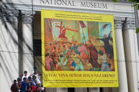 Image result for the procession of the Black Nazarene