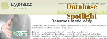 Cypress Resume 15 11