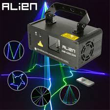 alien laser disco party lights for dmx mini professional stge lighting effect green led projetor