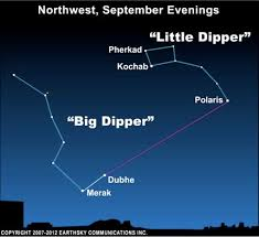 Use Big Dipper To Find North Star Tonight Earthsky