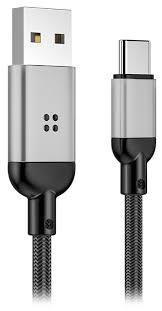 кабель передачи данных <b>Rock R6</b> Type-C Metal Braided Smart ...