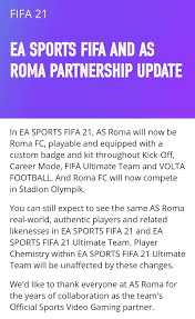 AS Roma will be named