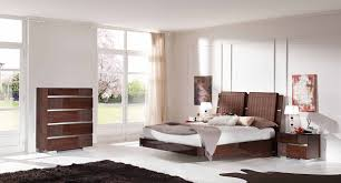 Mirror Bedroom Set Status Caprice Bedroom Set Walnut Bed 2 Nightstands Dresser