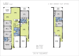 mondello duet 4 bedroom granny flat home size