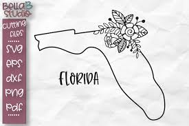 Would you consider supporting our work Florida State Svg Florida Floral State Map Svg Florida Svg 304885 Svgs Design Bundles