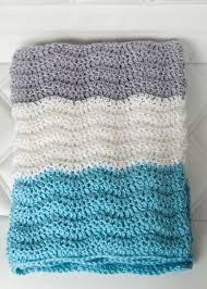 Crochet Chevron Baby Blanket Pattern
