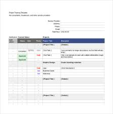 Project Tracking In Excel Project Tracking Template 11 Free Word Excel Pdf Documents