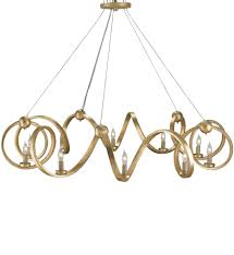 currey company 9490 ringmaster 10 light chandelier with gold leaf finish undefined