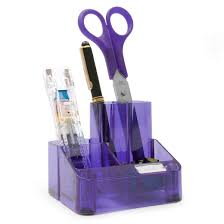 tidy office. Rapesco Desk Tidy - Organiser With 5 Compartments (purple): Amazon.co.uk: Office Products ,