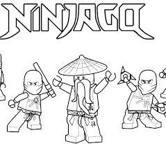 Ninjago Printable Coloring Pages Coloring Pages Lego Ninjago