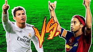 Cristiano Ronaldo VS Ronaldinho Gaúcho ○ A Batalha Dos Ronaldos ○ HD -  YouTube