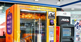 Healthy Vending Machine Singapore Adorable Entree Kibbles 48% Freshly Squeezed Orange Juice From A Vending