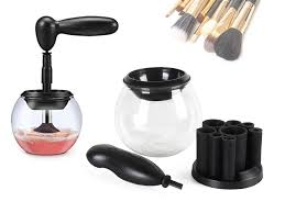 automatic electric makeup brush cleaner and dryer
