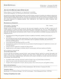 Template Accounts Payable Resume Unforgettable Specialist Receivable