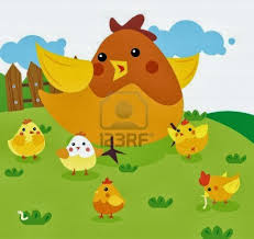 Resultado de imagen de Cinco pollitos