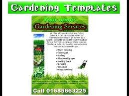 lawn care templates garden maintenance flyer template lawn care flyer template free lawn