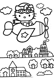 Have fun with the best hello kitty. Kids Coloring Pages Hello Kitty Page 1 Line 17qq Com