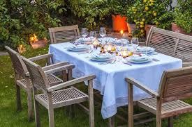umbrella tablecloths outdoor round