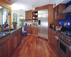 Kitchen Engineered Wood Flooring Hardwood Floor In A Kitchen Is This Allowed