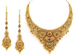 latest design of gold necklace