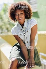 Photo Libre De Droit De Jeune Femme Noire Coiffure Afro