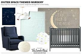 space themed baby room bedding outer nursery