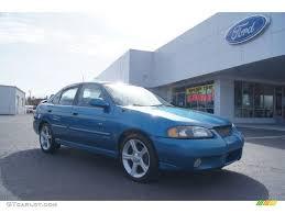 2003 Vibrant Blue Metallic Nissan Sentra SE-R Spec V #46397256 ...
