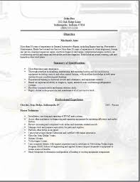 Gallery Of Automotive Technician Resume Example Free Auto Mechanic