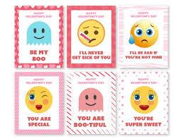 Day Cards To Print Emoji Printable S Day Cards 730 Sage Street