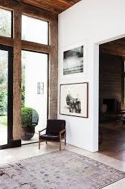 minimalist chinese rug interior