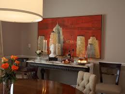 Dining Room Paintings Chair In Dark Room Red Room With Chair Rail - Dining room red paint ideas