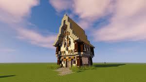 Minecraft Medieval House Designs Medieval Tudor Starter House Design Minecraft
