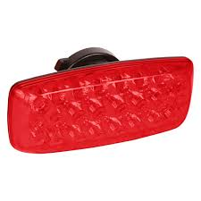 Battery Operated Red Led Lights Custer Products Limited Hf24r Battery Powered Red Led Warning Light