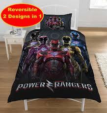 Power Rangers Wallpaper For Bedroom Power Rangers Within Movie Design Single Duvet Quilt Cover Set New
