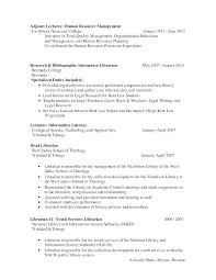 Sample Academic Librarian Resume Extraordinary Library Resume Sample Colbroco