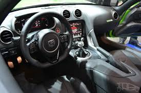 Dodge Viper Stryker Green interior at NAIAS 2014 - Indian Autos blog