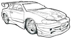 Race Car Color Pages Free Printable Sports Car Colouring Pages