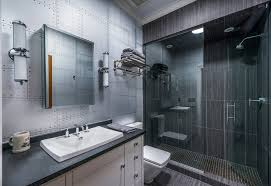 tiles that looks like metal on airplane s wings would add a manly touch to any bathroom