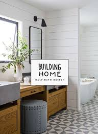 half bathrooms designs. Our Half Bath Design Is Up Today On The Fresh Exchange. Inspiration For A Bathrooms Designs