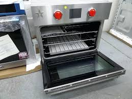 smallest wall oven electric wall oven stainless bsew0ecdd smallest gas wall oven