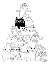 Dessin Imprimer Pyramide Chat Coloriage Coloriage Chats Et Dessin