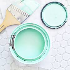 love love love this paint color so at our new house I sure do hope  @griffinnw will be cool with it! img via @elsielarson | Emily | Pinterest |  House, Mint ...
