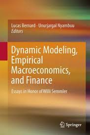dynamic modeling empirical macroeconomics and finance essays in full text pdf