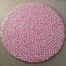 round pink rug. Pink Round Rug G