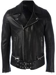 waxed biker jacket
