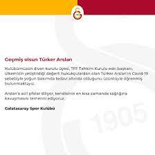 Galatasaray - Geçmiş olsun Türker Arslan